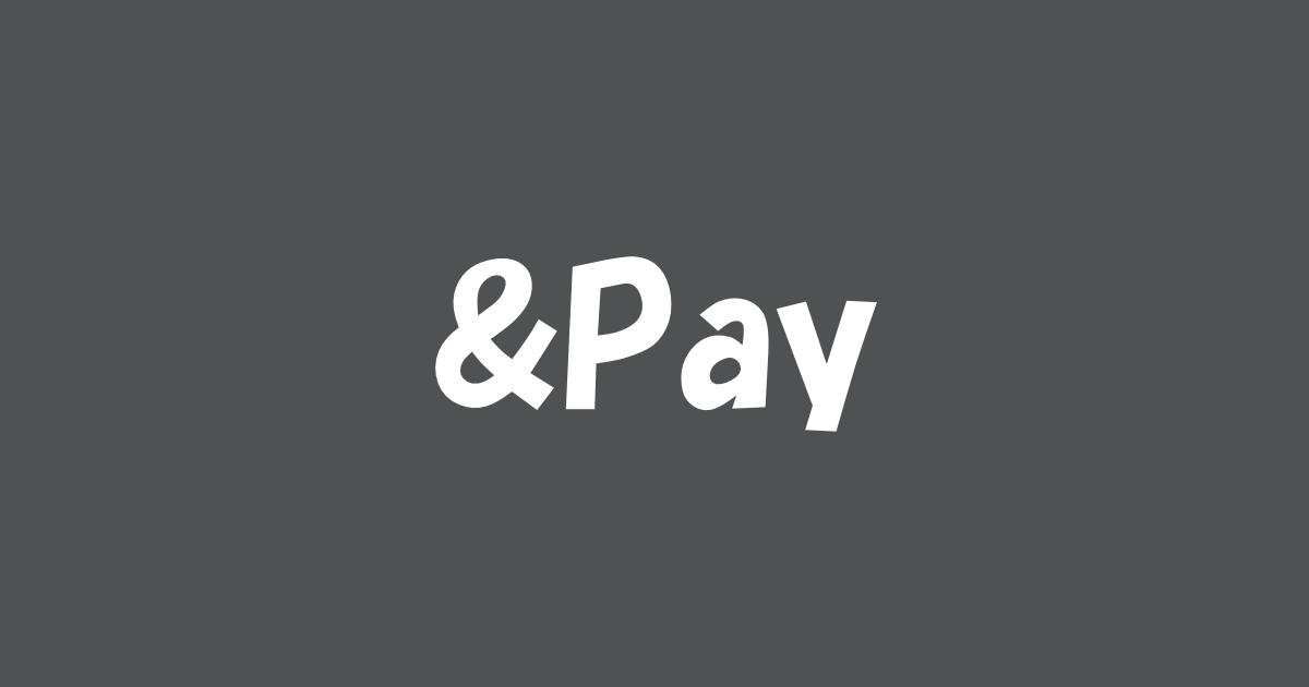 &Pay導入方法